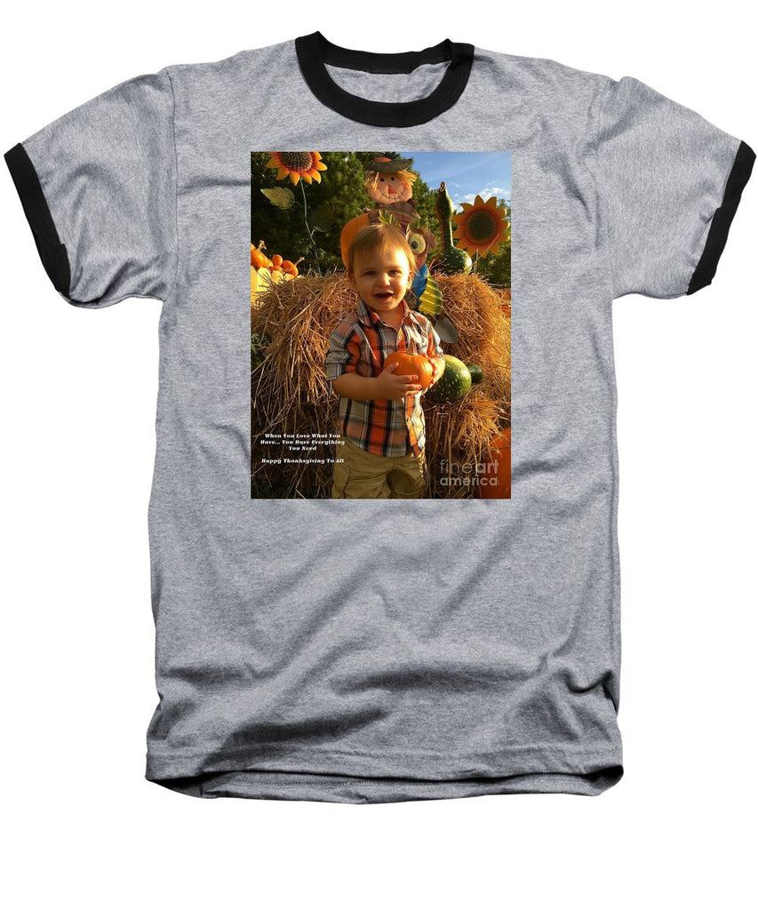 Baseball T-Shirt - Happy Thanksgiving To All