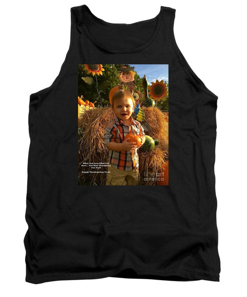 Tank Top - Happy Thanksgiving To All