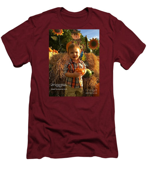 Men's T-Shirt (Slim Fit) - Happy Thanksgiving To All