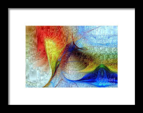 Hawaii - Island Of Fire - Framed Print