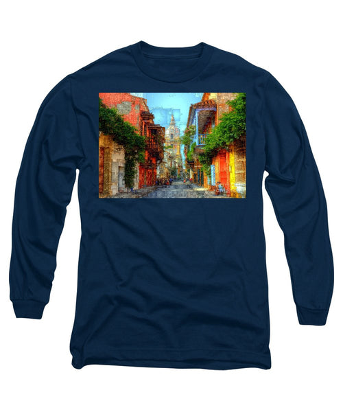 Long Sleeve T-Shirt - Heroic City, Cartagena De Indias Colombia