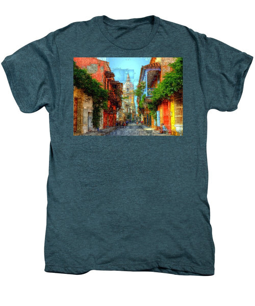 Men's Premium T-Shirt - Heroic City, Cartagena De Indias Colombia
