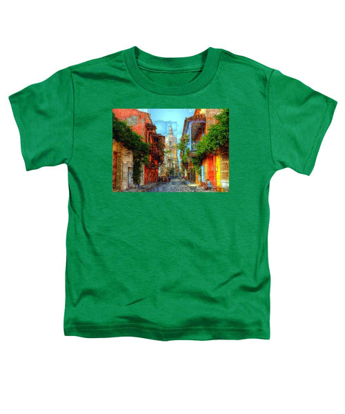 Toddler T-Shirt - Heroic City, Cartagena De Indias Colombia