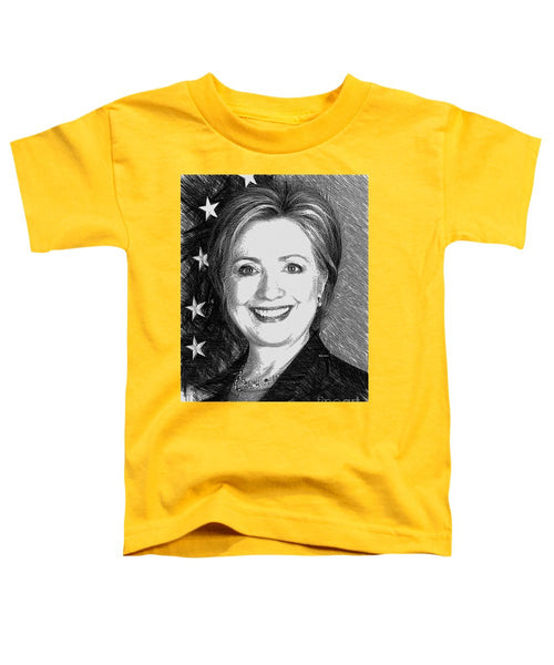 Toddler T-Shirt - Hillary Clinton