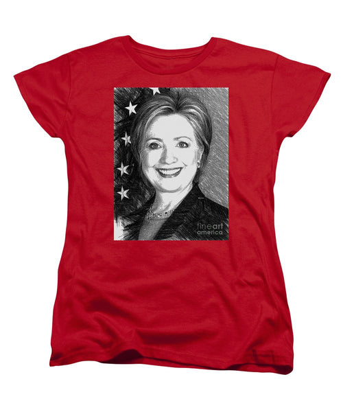 Women's T-Shirt (Standard Cut) - Hillary Clinton