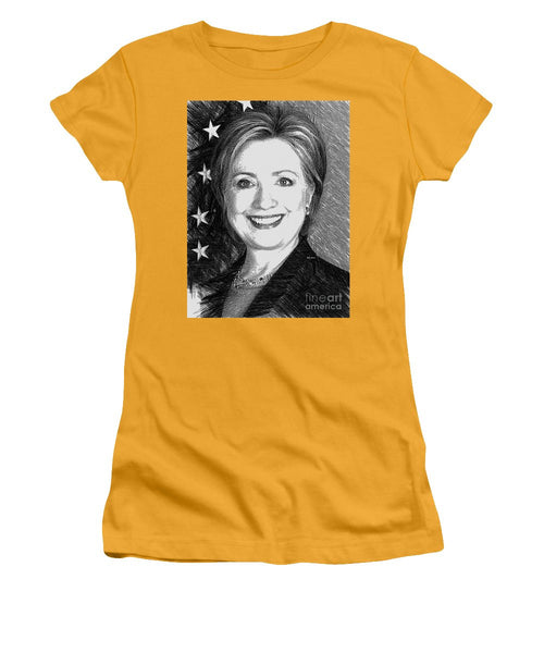 Women's T-Shirt (Junior Cut) - Hillary Clinton