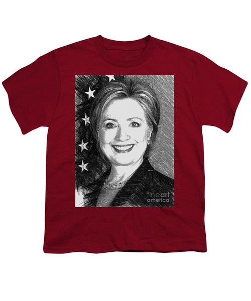 Youth T-Shirt - Hillary Clinton