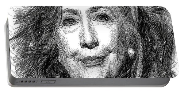 Portable Battery Charger - Hillary Rodham Clinton