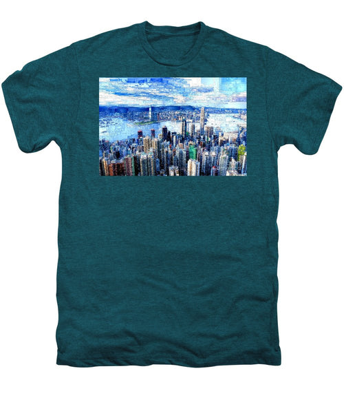 Men's Premium T-Shirt - Hong Kong, China