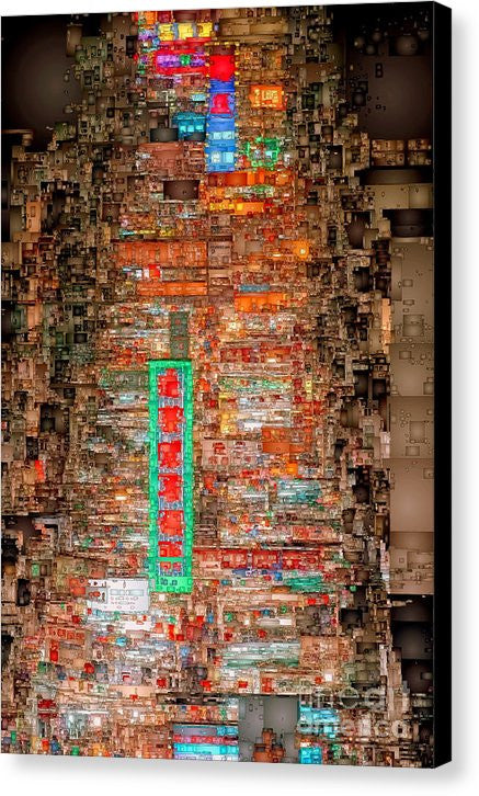 Canvas Print - Hong Kong -yaumatei