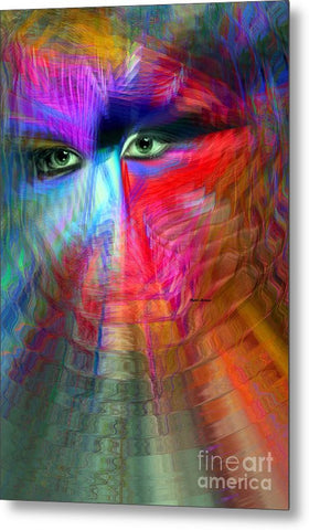 Metal Print - I Am Right Here For You