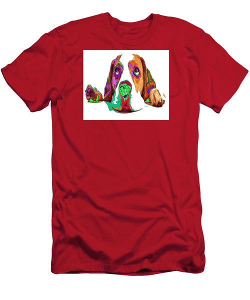 Men's T-Shirt (Slim Fit) - I Have Been Good, I Promise. Pet Series