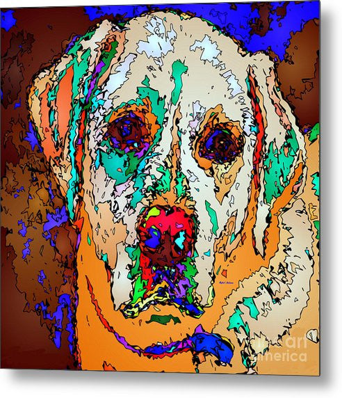 Metal Print - I Love You. Pet Series