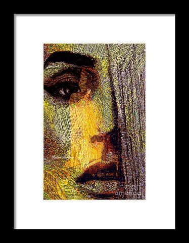I See Everything  - Framed Print