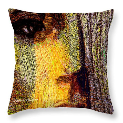 I See Everything  - Throw Pillow