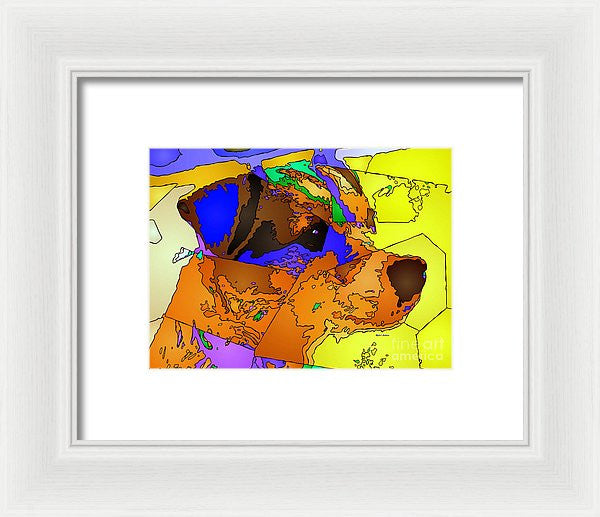 Framed Print - I'm Good. Pet Series