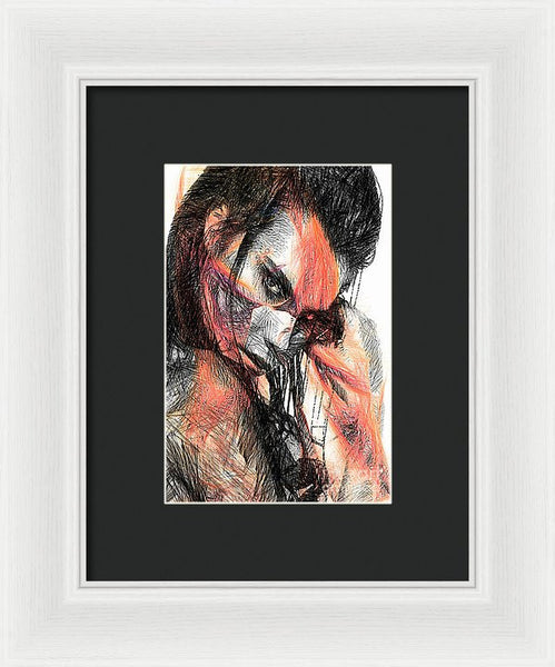 Framed Print - Is It Me You Are Looking For