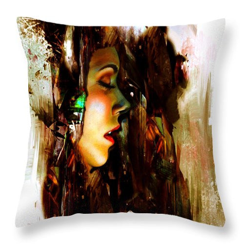 Throw Pillow - It Is Just A Dream