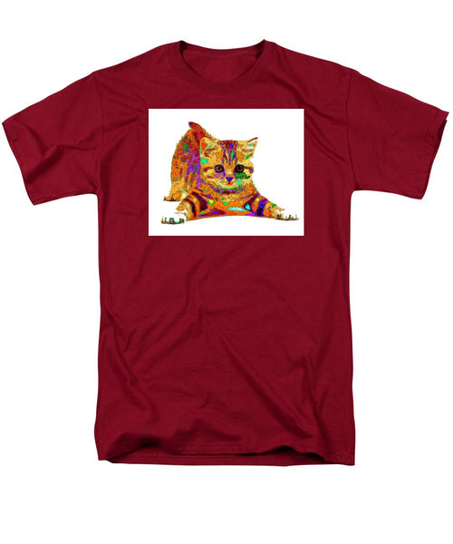 Men's T-Shirt  (Regular Fit) - Jelly Bean The Kitty. Pet Series