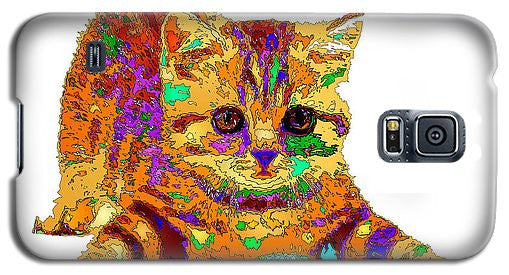 Phone Case - Jelly Bean The Kitty. Pet Series