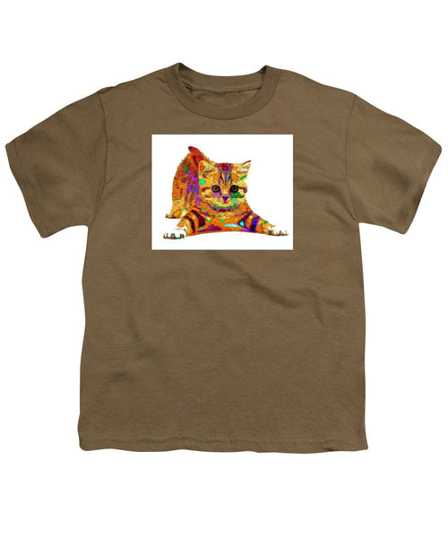 Youth T-Shirt - Jelly Bean The Kitty. Pet Series