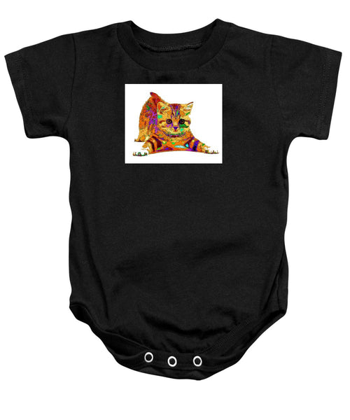 Baby Onesie - Jelly Bean The Kitty. Pet Series