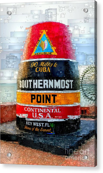 Acrylic Print - Key West, Florida