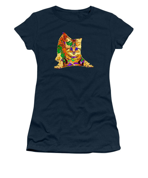 Women's T-Shirt (Junior Cut) - Kitty Love. Pet Series
