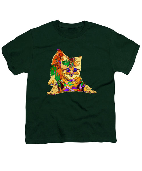 Youth T-Shirt - Kitty Love. Pet Series