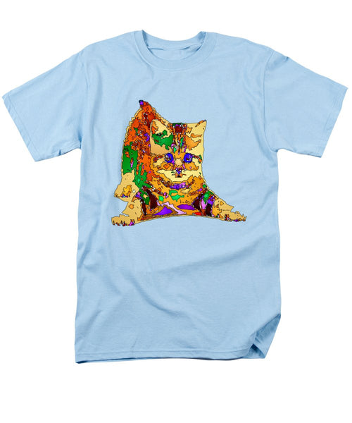 Men's T-Shirt  (Regular Fit) - Kitty Love. Pet Series
