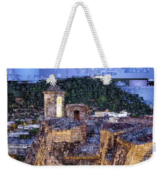 Weekender Tote Bag - La Popa Hill Convent And Saint Philip Castle, Cartagena Colombia