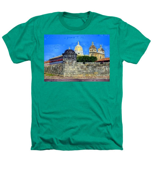 Heathers T-Shirt - La Popa Hill Convent And Saint Philip Castle, Cartagena De Indi