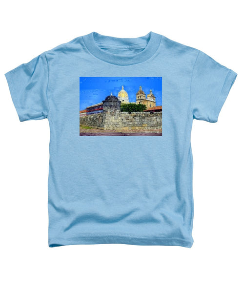 Toddler T-Shirt - La Popa Hill Convent And Saint Philip Castle, Cartagena De Indi