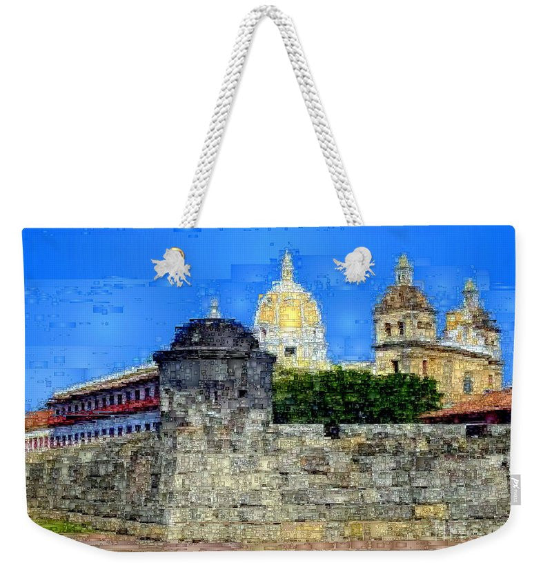 Weekender Tote Bag - La Popa Hill Convent And Saint Philip Castle, Cartagena De Indi