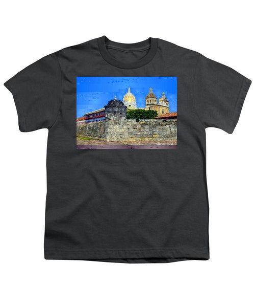 Youth T-Shirt - La Popa Hill Convent And Saint Philip Castle, Cartagena De Indi