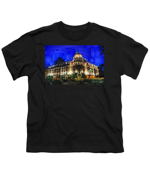 Youth T-Shirt - Le Negresco Hotel In Nice France