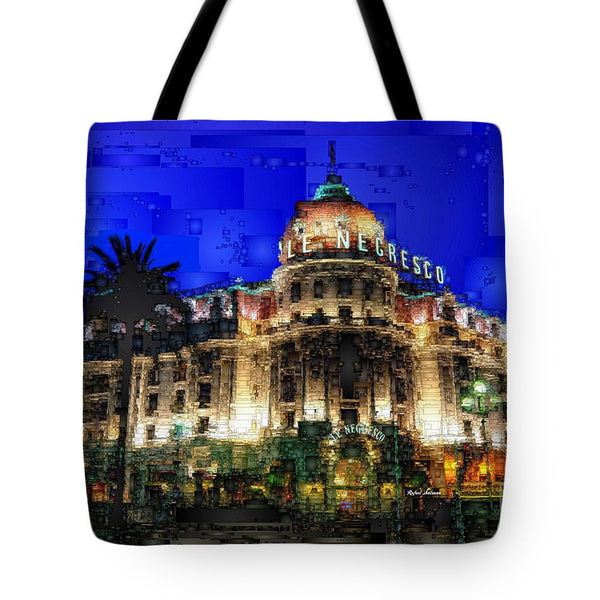 Tote Bag - Le Negresco Hotel In Nice France
