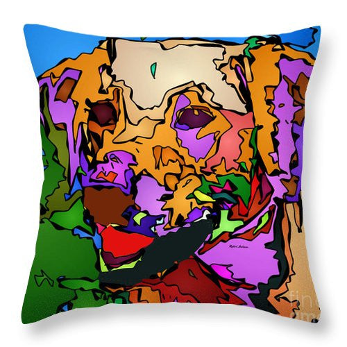 Throw Pillow - Let's Play. Pet Series