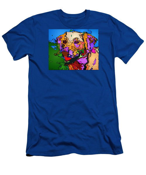 Men's T-Shirt (Slim Fit) - Let's Play. Pet Series