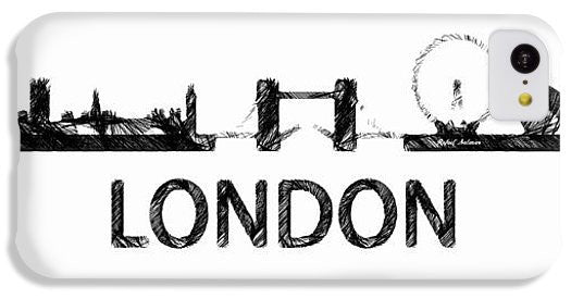 Phone Case - London Silouhette Sketch