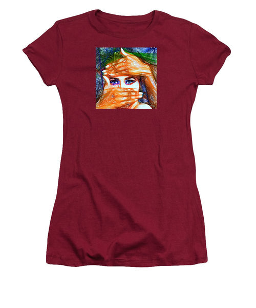 Women's T-Shirt (Junior Cut) - Look Out Of The Box