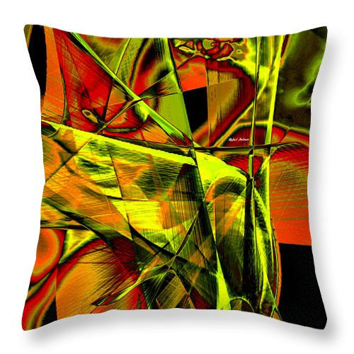 Throw Pillow - Look Who Is In There