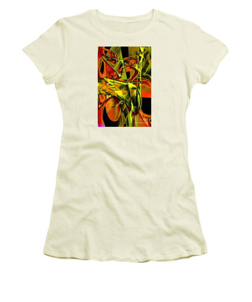 Women's T-Shirt (Junior Cut) - Look Who Is In There
