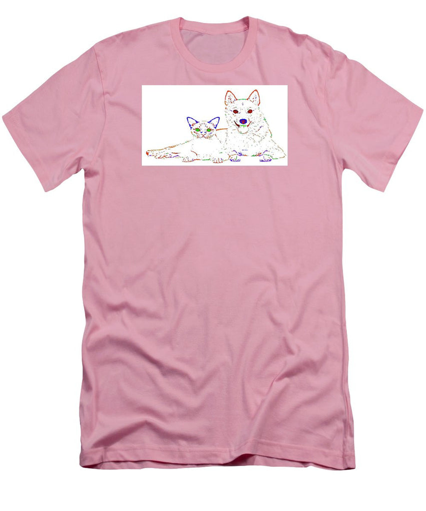 Men's T-Shirt (Slim Fit) - Love Me. Pet Series