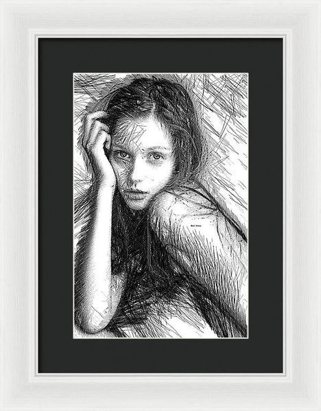 Framed Print - Love Me Tender