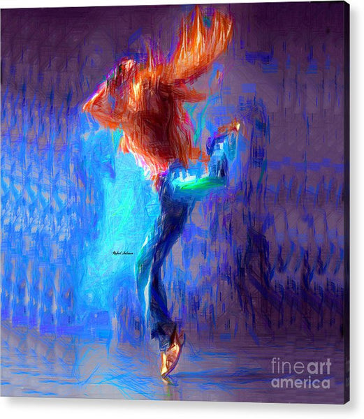 Acrylic Print - Love To Dance