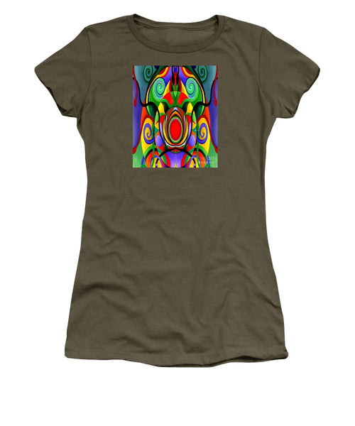 Women's T-Shirt (Junior Cut) - Mandala 9701