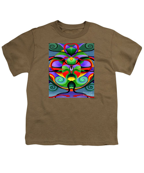 Youth T-Shirt - Mandala 9704