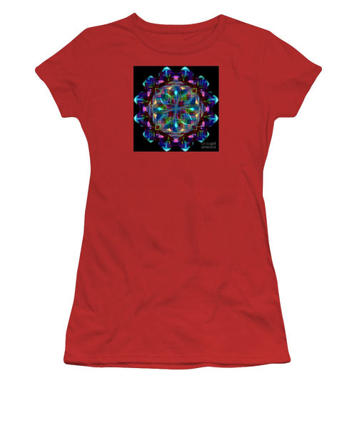 Women's T-Shirt (Junior Cut) - Mandala 9735