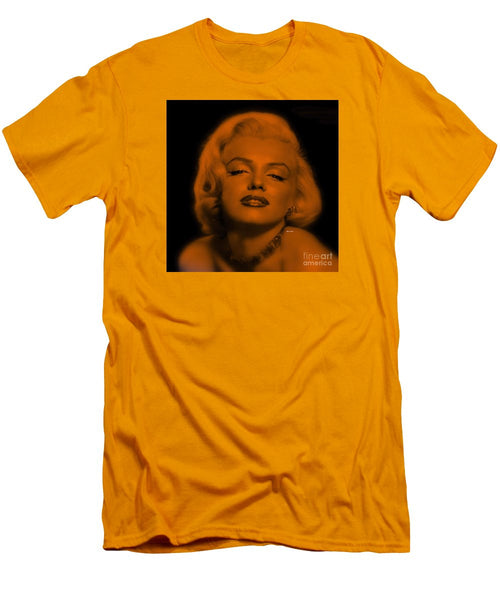 Men's T-Shirt (Slim Fit) - Marilyn Monroe In Copper Blonde. Pop Art